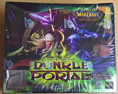 World of Warcraft (WoW) TCG - Durch das dunkle Portal Booster Box (Mint,Sealed)