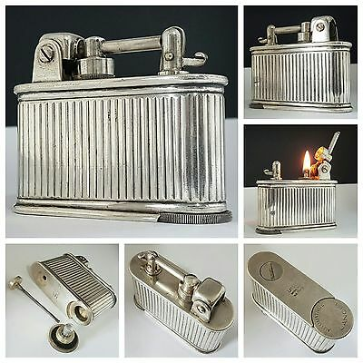 Briquet de table / LANCEL AUTOMATIQUE / petrol lighter feuerzeug accendino