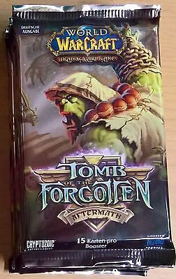 World of Warcraft (WoW) TCG - Booster Packs Tomb of the Forgotten (Mint,Sealed)