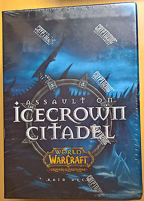 World of Warcraft (WoW) TCG - Icecrown Citadel Raid Deck (Mint, Sealed)