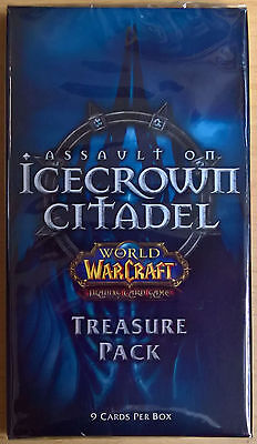 World of Warcraft (WoW) TCG - Icecrown Citadel Treasure Pack (Mint, Sealed)