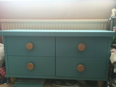 Ikea Children's Blue Chest of Drawers