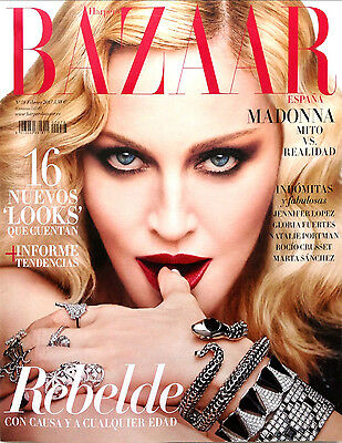 Madonna HARPER'S BAZAAR Spain February 2017