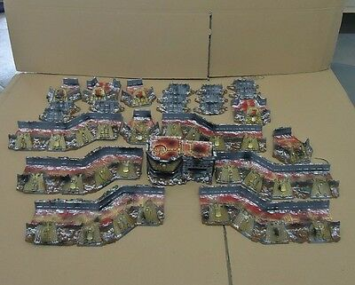 Warhammer 40K wall of martyrs Imperial Defence Network Scenery terrain figures