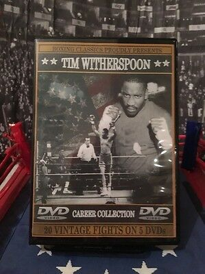 Tim Witherspoon Boxing DVD Career Collection