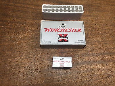Vintage Lot of 2 WINCHESTER empty shell boxes~ 243WIN &  X22 Long Rifle PP