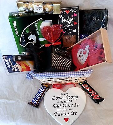 Luxury Valentines Day Gift Hamper Chocolate For Her Girlfriend Wife