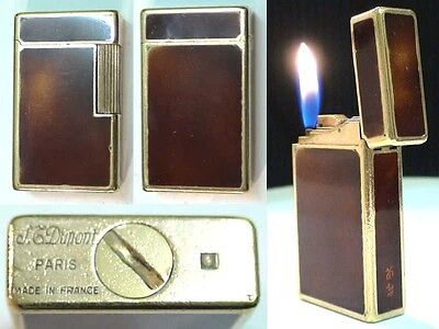 Briquet Ancien @ ST Dupont Laque @ Vintage gas Lighter Feuerzeug Accendino