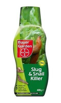 Bayer Bio Ultimate Slug & Snail Killer Garden Pest Control 400g