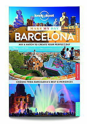 LONELY PLANET Make my Day Book  Barcelona with pull out map