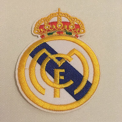 Real Madrid CF Footbal Club Crest Iron Sew on Badge Transfer Emroidered Patch