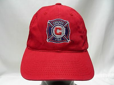 Chicago Fire - Red - Adjustable Strapback Ball Cap Hat!