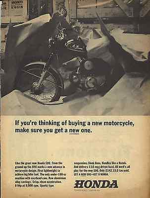 ONE ONLY Rare 1965 Original HONDA S90 POSTER/AD
