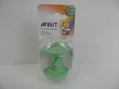 AVENT Non-Spill Easy-Sip 12m+ Toddler Spout Set of 2 NEW NIB nipple SCF147/82