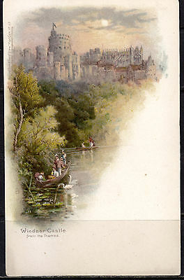 Tuck Thames View No. 39, Windsor Castle From the Thames