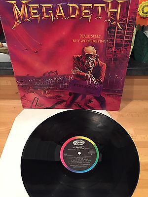 Lp Vinile Megadeth Peace Sells...who's Buying Ref. 7481481