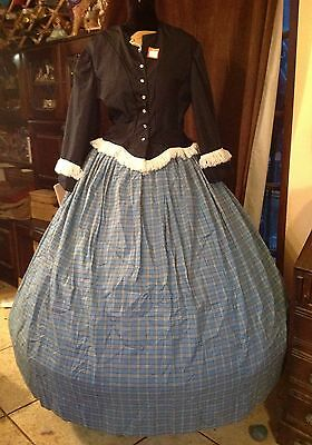 Ladies Two-piece Jacket and Skirt Western Style Re-enactment