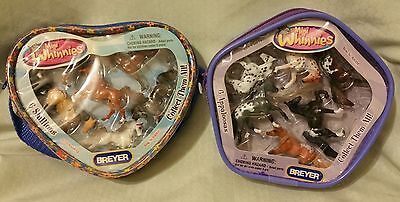 New Breyer 2 Packages Mini Whinnies Stallions Appaloosas Horse Collections