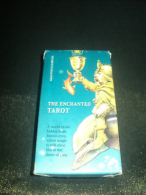 Out Of Print - The Enchanted Tarot Cards Deck & Booklet Set - Boxed & Complete