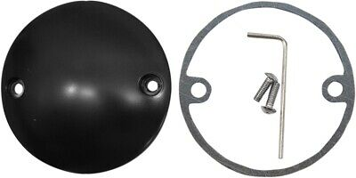 Drag Specialties Flat Black Radius Points Cover 1970-2017 Harley FL FX XL