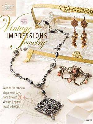 New Bead Vintage Impressions Jewelry 20  Designs Must See