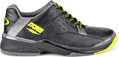 Storm SP700-1 Black/Grey/Lime Mens Right Handed Interchangeable Bowling Shoes