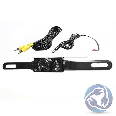 HD Color Rearview Backup Camera Waterproof Wide Angle Car Day Night IR CMOS