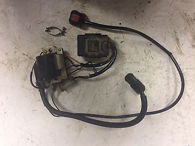 Yamaha YZ 80 Coil, CDI Igniter And Kill Switch.