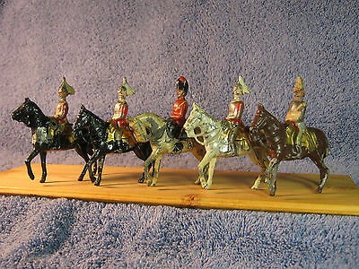 Reka Mounted Soldiers   All 5 Pieces