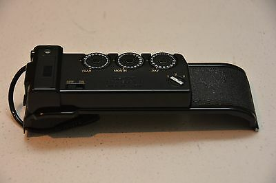 CANON DATA BACK A - Vintage 35mm Film Camera Accessory, Tested & Working, JAPAN