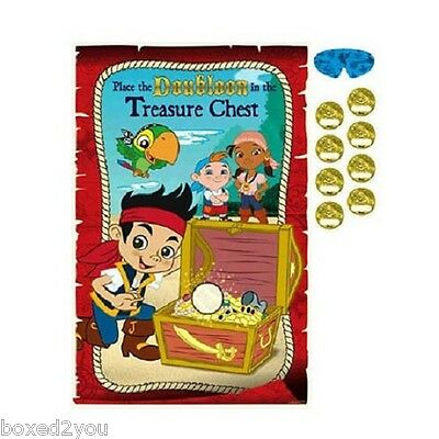 JAKE AND THE NEVERLAND PIRATES Party Game- Party Supplies - New