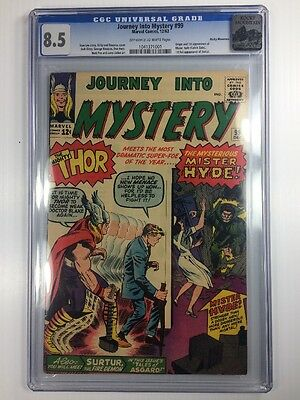 Journey Into Mystery 99 CGC 8.5 Rocky Mountain pedigree Mister Hyde & Surtur