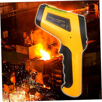 LCD Infrared Thermometer -50 To 380 Degree Celsius Temperature Sensor HT-861 F1