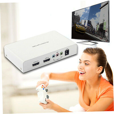 REL011 Game Capture 1080P HD Video Capture Support HDCP Protocol HDMI Input F1