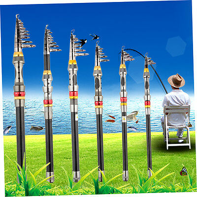 Super Light Carbon Telescopic Pole Saltwater Casting Sea Fishing Rods F1