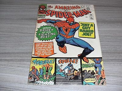 The Amazing Spider-Man #38 Very Good/fine 5.0 Marvel Last Steve Ditko Spider-Man