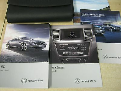 MERCEDES-BENZ SLK OWNERS MANUAL OWNERS HANDBOOK 2012-2016 R172 Audio 20