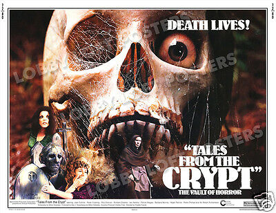 Tales From The Crypt Lobby Card Poster Hs 1972 Sir Ralph Richardson Joan Collins