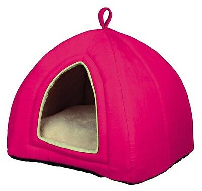 Trixie Maira Cuddly Cave Bed For Cat or Kitten Pink 36322