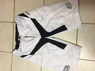 Troy-Lee-Designs Moto Short White Size 32