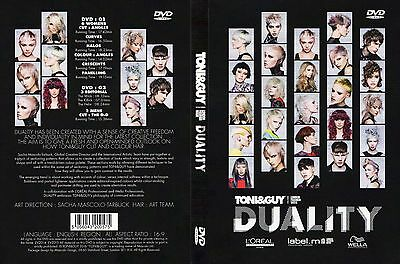 TONI&GUY DUALITY  2016-2017 2 DVDs SET