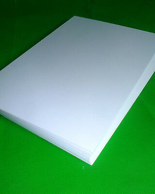 25 sheets PREMIUM SMOOTH WHITE COATED BLANK CARDSTOCK 250 GSM A4