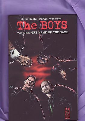 The Boys Vol 1 The Name of the Game by Garth Ennis-Darick Robertson