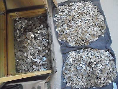 110 X Coins Mixed Lot Collection Of World Coins.