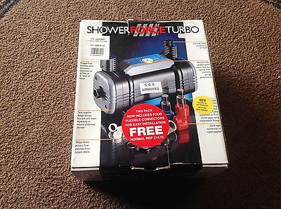 New - Shower Force Turbo 50 Booster Pump
