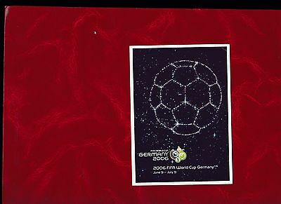 2006 Football World Cup in Germany postcard