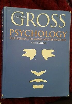 Psychology: The Science of Mind and Behaviour by Richard D. Gross (Paperback, 2…