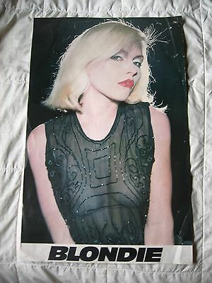 "Blondie Classic Tour Poster See Through Top 26 1/2"" x 17"""
