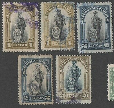 Paraguay. 1911 The 100th Anniversary of Independence. Cancelled