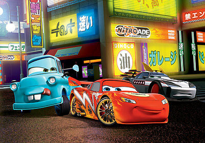 368x254cm wall mural photo wallpaper for childrens room Cars chinatown - Disney